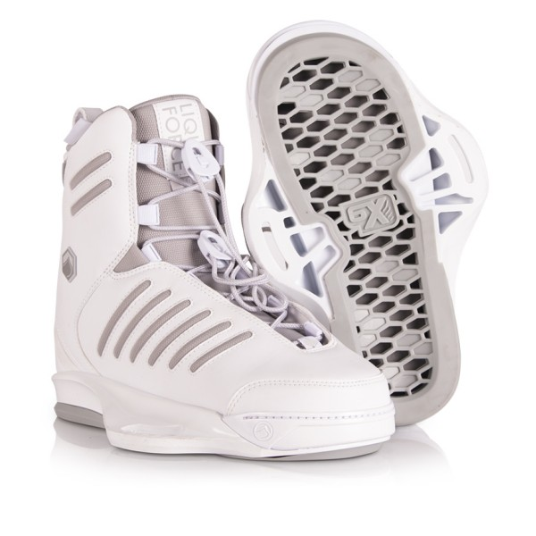 LIQUID FORCE TAO WHITE 6X 2020 BOOTS