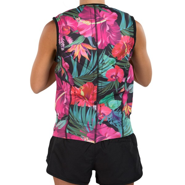 LIQUID FORCE Z-CARDIGAN WOMEN COMP 2018 - Tropical - Back