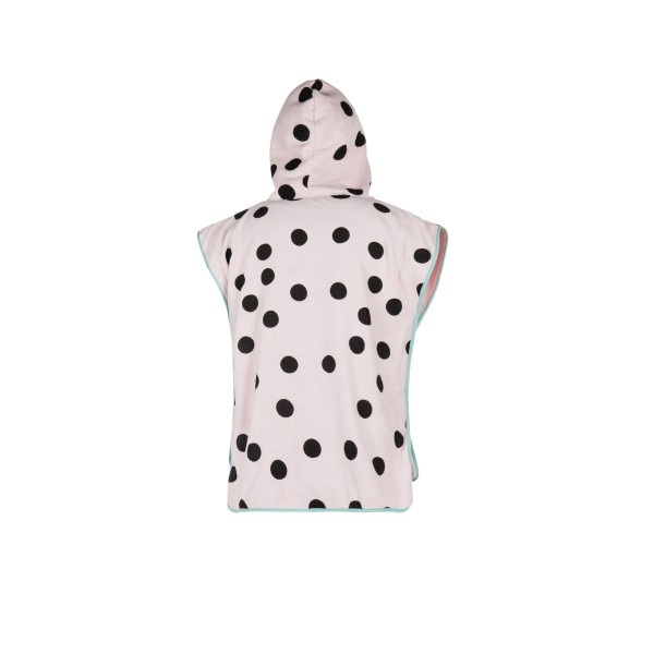 MYSTIC PONCHO KIDS ALLOVER PRINT - Pink - Back