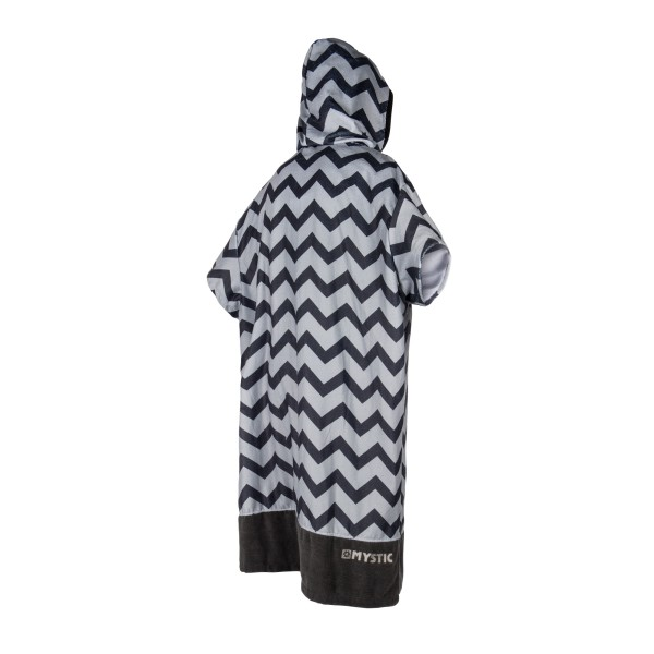 MYSTIC PONCHO ALLOVER PRINT - Light Grey - Back