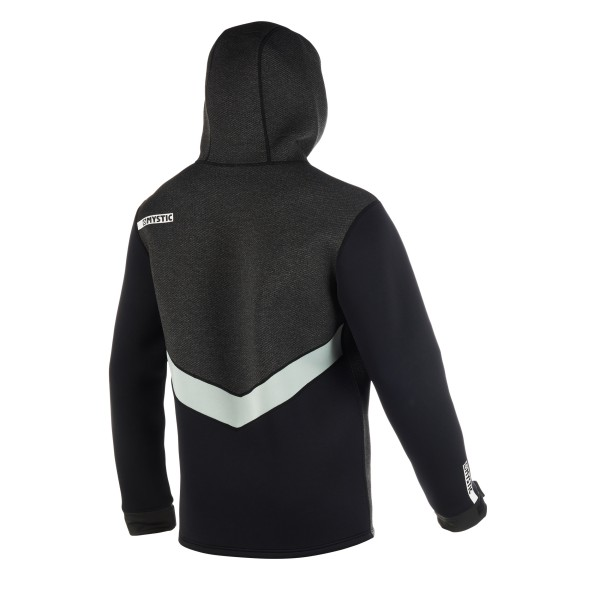 MYSTIC VOLTAGE SWEAT NEOPRENSKA JAKNA - Black/White