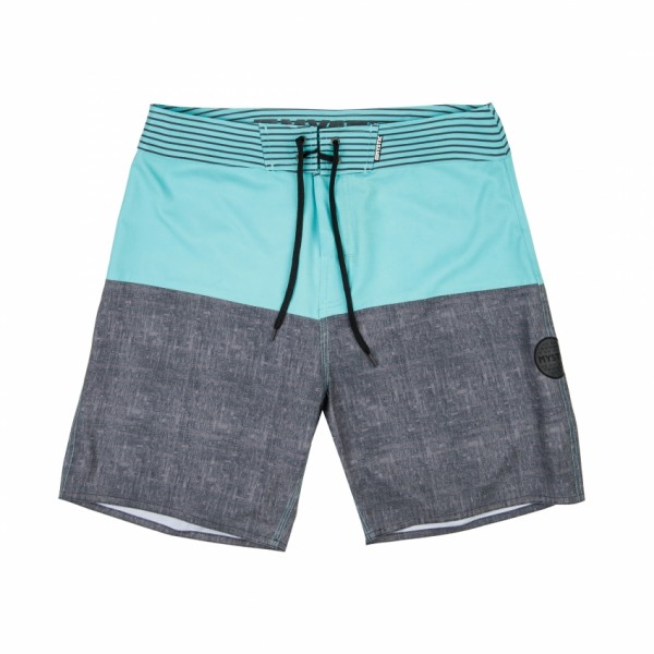 MYSTIC SAILOR BOARDSHORTS - Flow Green - Front