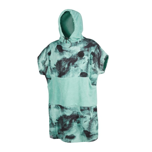 MYSTIC PONCHO JUNIRO ALLOVER - Black Mint