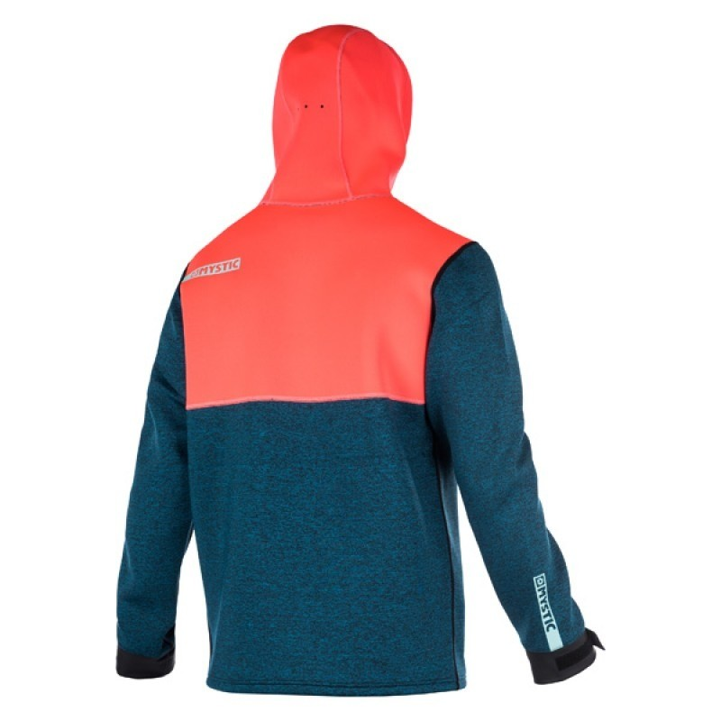 MYSTIC VOLTAGE SWEAT NEO WOMEN - Coral